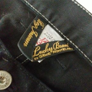 Lucky Brand Jeans - LUCKY BRAND DUNGAREES JEANS SWEET & LOW BLACK